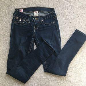 True religion mid rise jeans